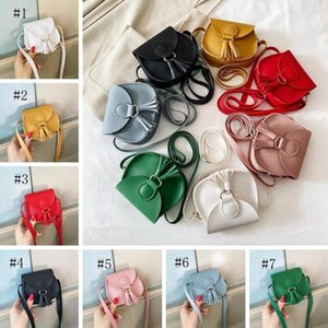 Wholesale toddler designer purse resale online - Baby Coin Purse Leather Kids Mini Cross Body Messenger Bag Tassel Toddler Girls Shoulder Bags Tote Kids Accessories Colors GWC6610