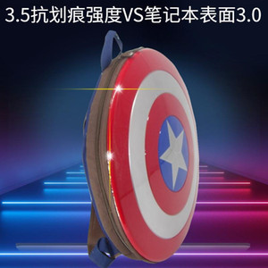 Wholesale captain american shield for sale - Group buy For For Film Of Captain USA School Backpack Schoolbag Anniversary Primary And Middle Computer Students Shield Backpack th Teenagers Fcaqn