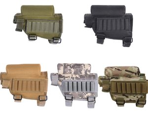 Wholesale ammo pouches for sale - Group buy Outdoor Hunting Tactical Bullet Bag Portable Adjustable Ammo Holder Accessories Pouch Holder Pack Tactical Molle Pouch Accessories