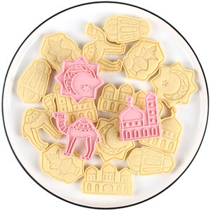 Wholesale moon mask for sale - Group buy Camel Moon Star Biscuit Mold Cookie Cutters EID Mubarak Ramadan Decoration Islam Muslim Party Decor Eid Al Adha Ramadan And Eid Y0219