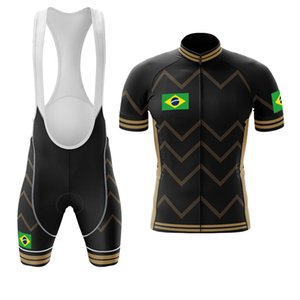 Wholesale brazil new jersey resale online - 2021 New Brazil Summer Men s Short sleeved Wear Suit Sports Mountain Cycling Jersey Bike Lane Maillot Ciclismo