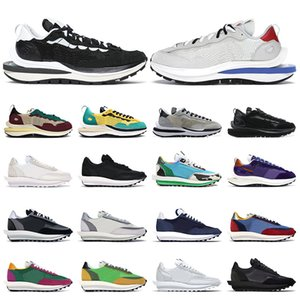 Mens vaporwaffle shoes Obsidian Black White Nylon Sail Game Royal Tour Yellow Green Chunky Dunky Grey womens trainers Sports sneakers 36-45