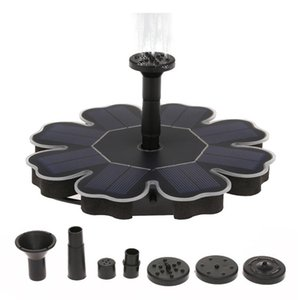 ingrosso fontana solare stagno-Floating Solain Fountain Garden Water Pond Pond Decor Pannello Pompa Pompa Patio Decorazione Decorazione Decorazione