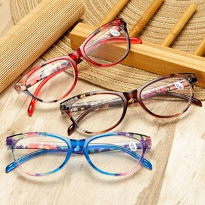Wholesale eyes vision care resale online - Unisex Cat Eye Reading Glasses Women Men Lightweight Resin Presbyopic Diopter Vision Care Presbyopia Eyewear Sunglasses