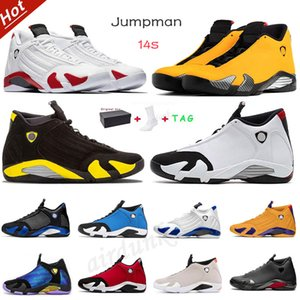 zapatos de caramelos rojos al por mayor-air jordan aj14 s Basketball jordans Shoes Rookie of Arrivals OG High Low Mens Womens aj14 union the Year Shattered Crimson Jumpman Tint Sneakers Trainers