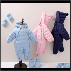 Wholesale snow suits for sale - Group buy Jackets Outwear Clothing Baby Kids Maternity Drop Delivery Toddler Snow Suit Girl Cotton Overalls Rompers Born Baby Jumpsuit Hooded P