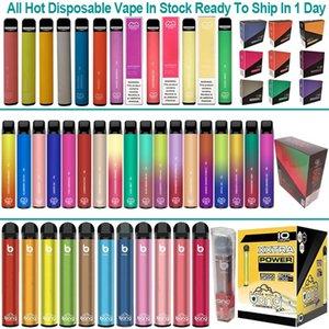 High Quality Puff Bar Plus Disposable Vape Pen Electronic Cigarettes 800 Puffs Starter Kit Disposabe Pod E-Cigarettes Vaporizer