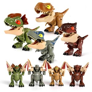 Wholesale transform toy for sale - Group buy Transform Dinosaur Robot Toy Jurassic Park Transformer T Rex Educational Animals Dinosaurs Toys for Children Boys Q0313