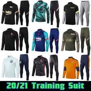 ingrosso tuta di rischio-20 Valencia CF Soccer Training Suit Atletico Football Tracksuit Real Madrid Survement Chandal Maillot de Foot Kit Pericolo