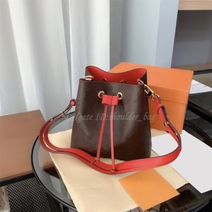 Wholesale drawing string bags for sale - Group buy Classic Versatile Bucket Bag Draw Rope Middle Zipper Bags Champagne Design Wine Handbag Contemporary Fashion One shoulder Backpack Cross Body