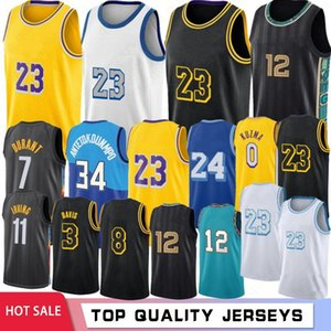 lakers toptan satış-NCAA LeBron James College Basketball Jerseys Anthony Kyle Davis Johnson Men Jersreys Stock S XXL Hot Sale
