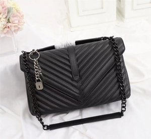 Wholesale gold crossbody purse resale online - VANNOGG Purses Tote High quality Real Leather Lady s Handbag Gold Silver Chains Single Shoulder Oblique Bag CM Crossbody Lurxy Designers Saddle Rea Lqej Usxt