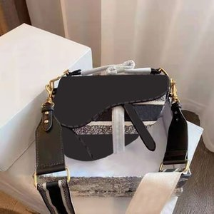 Wholesale large black crossbody bag resale online - 2021 high quality brand ladies handbag crossbody shoulder bag canvas large capacity with original box and dust bags