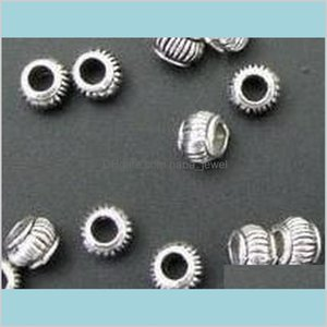 Wholesale alloy 5mm beads resale online - In Stock Tibetan Silver Lantern Alloy Beads Spacers Beads Findings Mm Hole Mm Hthaa W0Igx