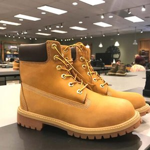 Wholesale winter timber resale online - 2021 timber boots designer men women shoes top quality Ankle winter boot for cowboy yellow blue black pink hiking work