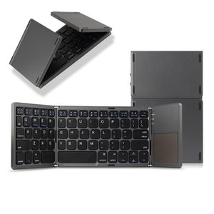 Wholesale bluetooth mini pad for sale - Group buy Mini Foldable Wireless Bluetooth Keyboard With Touchpad For Lenovo Tab P11 Inch Xiaoxin Pad Pro TB J606F J706F Tablet PC Keyboards
