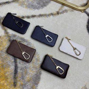 With box classic card holder top quality Genuine Leather Coin Purse multi-style Women fashion luxurys Designer bags Keychain Wallet