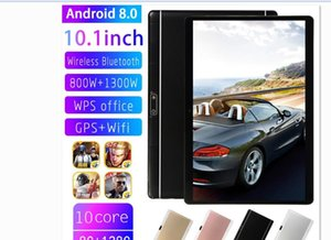 Wholesale tablets resale online - Tablet High quality Octa Core inch MTK6582 IPS capacitive touch screen dual sim G phone android GB GB
