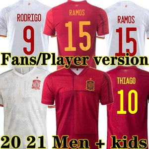 ingrosso isco jersey-Asensio Spagna Spagna Maglie di calcio Home fan giocatore Versione Morata Isco Iniesta Paco Alcacer Away Football Adult Man Kit Kit Kit