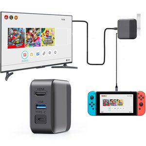 Wholesale switch nintendo dock resale online - 2 in Nintendo charging dock switch HDMI TV Converter charger dock switch supports TV mode and host station