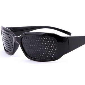 Wholesale vision pinhole glasses resale online - Manufacturer Wholale Vision Correction Care Anti fatigue Dioptric Black Sun Glass Custom Pinhole Sunglassb