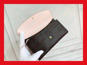 Wholesale money bags for sale - Group buy fashion Classic Lady Leather Wallets Long Money Zipper Bag Coin Clutch Bags Wallet