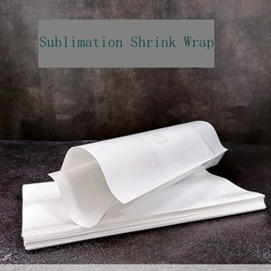Wholesale heat shrink plastic wrap for sale - Group buy Sublimation Shrink Wrap Heat Transfer Printing Vacuum Cup Heat Shrinkable Film Sizes color High Temperature Resistance Shrink Bag LLA541