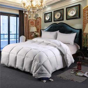 Wholesale down comforters for sale - Group buy Duck Down Duvet Comforter Queen King Feather Quilts For Winter Comforters Sets