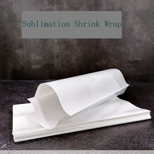 Wholesale heat shrink plastic wrap resale online - Sublimation Shrink Wrap Heat Transfer Printing Vacuum Cup Heat Shrinkable Film Sizes color High Temperature Resistance Shrink Bag LLA541