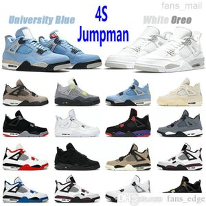 Wholesale jordan air shoes resale online - Top Quality Jumpman s Basketball Shoes Taupe Haze University Blue Air Jordan aj4 Sail Fire Red White Oreo Neon Black Cat Sports Trainers Sneakers
