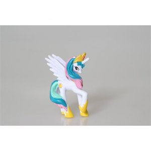 princesa brinquedos altos venda por atacado-Unicorn Sun Luna Princesa Cadance Nightmare Cavalo Cavalo Toy Figures cm High