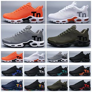 Wholesale hiking shoes resale online - 2021 Mercurial TN TPU Plus Mens Running Shoes For Men Casual Cushion Trainers Sport Athletic Sneakers Outdoor Hiking Jogging Sneaker