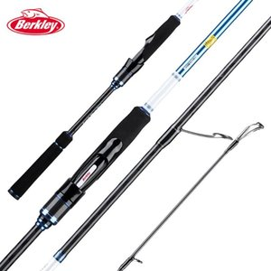 madera de cereza al por mayor-Berkley Cherry Wood III Culter Lure Rod m m RF Acción ML ML Power High Carbon Spinning Tackle Tackle Barras de barras