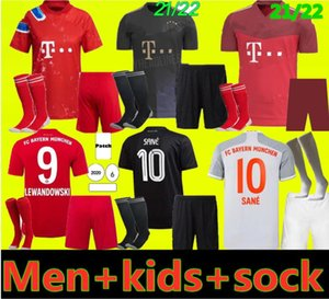 uniformes complets de football achat en gros de-news_sitemap_homeAdultes et enfants Kit Bayern Kit Munich Soccer Jerseys Lewandowski Hernandez Coutinho Enfant Uniformes adultes Full Set Football