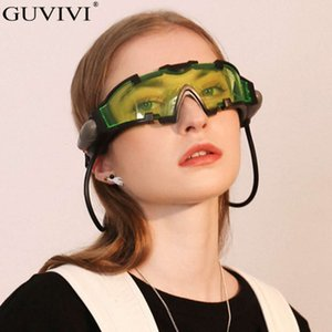 Wholesale clout goggles resale online - Night Light Goggles Sunglasses Women Vintage Clout Goggles Sunglasses Fashion Retro Mens Sunglasses Kids Eyewear