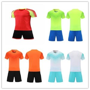 orange 83 jersey großhandel-20 Orange Leerer Spieler Team Customized Name Number Fussball Jersey Männer Fußball Shirts Shorts Uniforms Kits