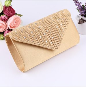 Wholesale designer envelope clutch bags for sale - Group buy Women Evening Shoulder Bag Bridal Clutch Prom Wedding Party Envelope Handbag Storage Bags