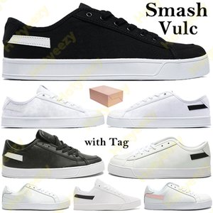 Wholesale box smash for sale - Group buy Smash Vulc Men Women Running Shoes with Box black white sliver glod pink canvas leather sport Sneakers classic Trainers Tag US