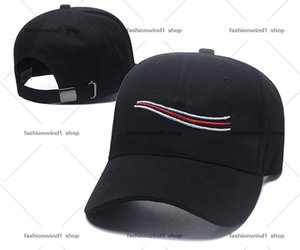 Wholesale ball drops resale online - designer Fashion Black white buckle hat Multi Colored Caps Bone Adjustable Sports ball Cap Men Free Drop Mixed Order