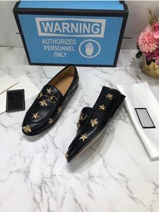 Wholesale sneaker heels resale online - Men Women fashion loafers casual shoes Black leather dress driver sneakers boots Brushed Roisnylon Monolith rubber tread sole quot heel size
