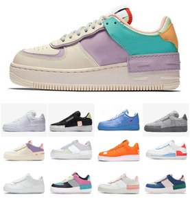 Wholesale one jack resale online - 2021 Dunk Running Shoes Forces Skate Sneakers N Cactus Jack Black White Brown Flax Orange One Mens Woman Flat Outdoor Shadow Utility Sports Shoe
