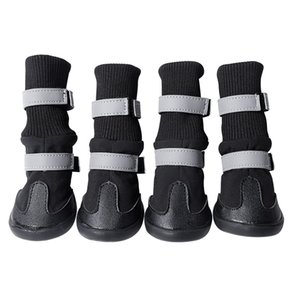 Wholesale boots dogs resale online - Waterproof Winter Dog Boots Reflective Pet Snow Boot Shoes for Small and large dogs R2