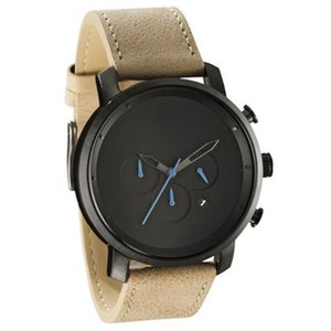 Wholesale pin eyes for sale - Group buy watch Waterproof fashion men s frosted leather three eyes true pin MV