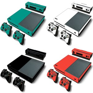 Wholesale xbox one new resale online - New hot selling products vinyl for XBOX One skin sticker Game Console Controller