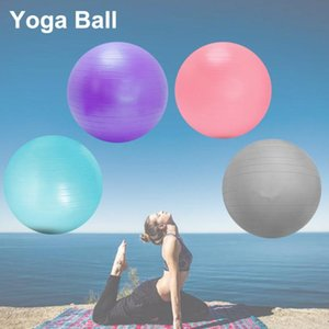 Wholesale meat balls resale online - Yoga Beginners Fitness Reduction Meat Pregnant Women Midwifery Thickening Explosion Proof Anti Slip Matte Ball Balls