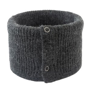 Wholesale ring guards for sale - Group buy Warm Collar Ring Scarf Women Winter Button Neck Scarves Solid Color Knitted Female Thick Guard Outdoor