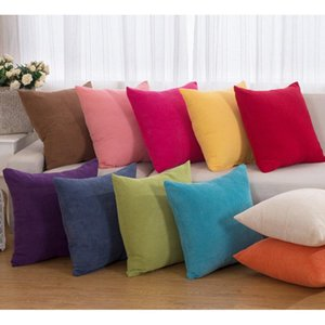 Wholesale corn kernels for sale - Group buy Colorful Corduroy Like Corn Kernels Cushion Cover Square Home Office Sofa Soft Pillow Solid Decorative Cushion Decorative