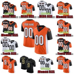 Wholesale dalton jersey for sale - Group buy Custom Football Jerseys Joe Burrow A J Green Joe Mixon Andy Dalton Men Women Kids