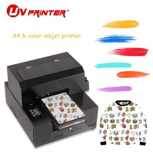 Wholesale large for printer resale online - Large Format DTG Inkjet Printer Multi function For High resolution Printing Of Leather plastic metal wood Materials Printers