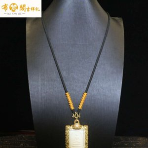 Wholesale jade buddha hand pendant for sale - Group buy fashion necklaceYaxin Thai chain hand woven Buddha brand jade pendant necklace rope